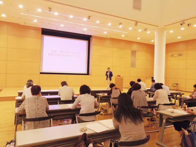岐阜県で行った研修の様子。